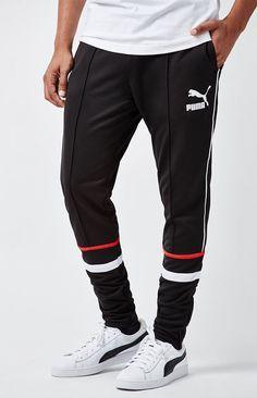 Puma Super Puma Track Pants Jogginghosen Fur Manner Manner Outfit Jogger Outfit