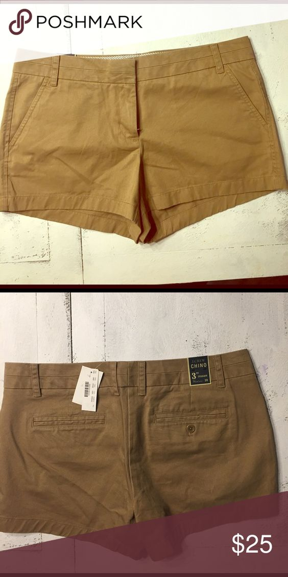 "NWT J.Crew 3"" inseam shorts!!! Brand new with tags great everyday chino with 3"" inseam! Great shorts! Great color! Brand speaks for itself! J. Crew Shorts"