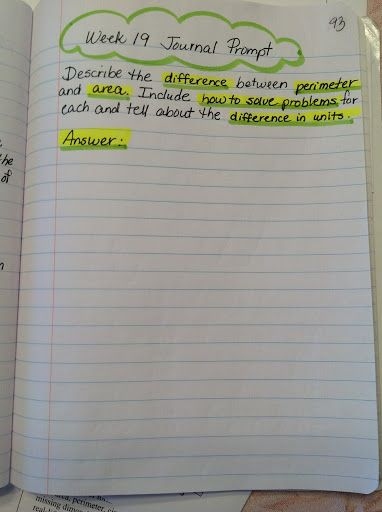 "I need to start doing WRITING for my ""IN"" activity. Good for common core....... From: 7th Grade Pre-AP Math Interactive Notebook - Maria Gonzalez - Picasa Web Albums"
