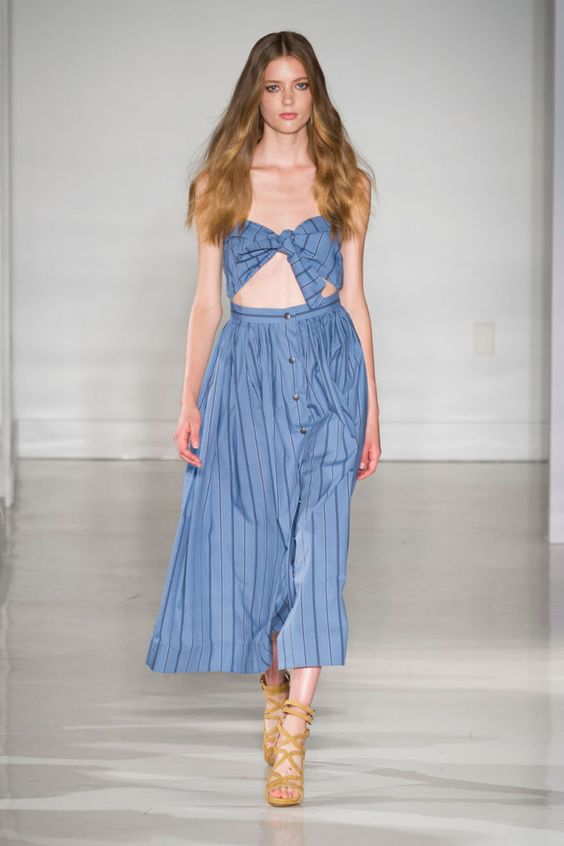 Jill Stuart Spring 2015 Collection. Photo: Imaxtree
