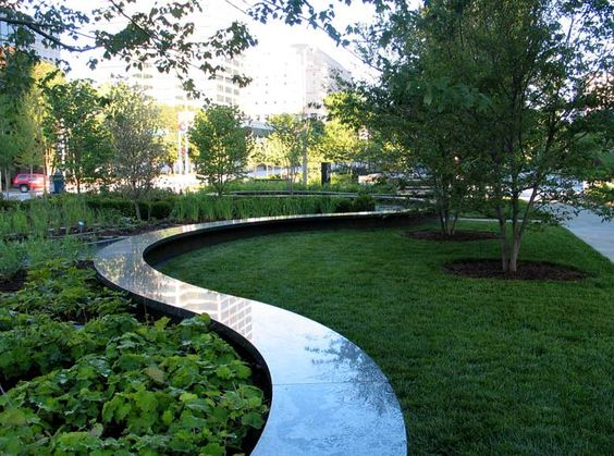 Citygarden st louis mo citygarden is a three acre two for Nelson byrd woltz landscape architects