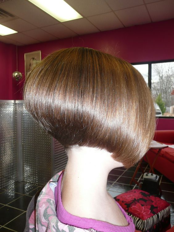 """More boi's should be encouraged to have a stacked bob... Nothing says """"girly""""  quite like it"""