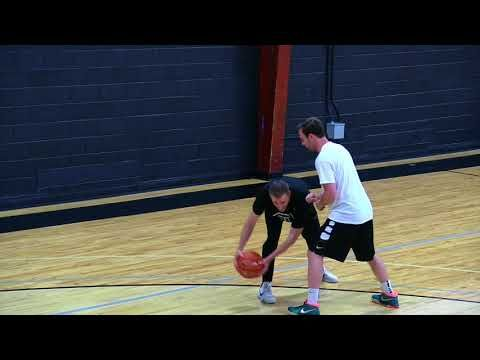Rip Pivot Sweep Drill With Luke Meier Of Thrive3 Basketball Youtube Basketball Drill Ripped