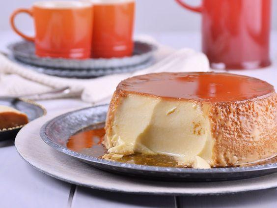 Receta | Agujeritos con flan - canalcocina.es Las recetas de #gonzalodambrosio son un éxito siempre!