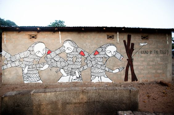 Know Hope, Gambia, street art. 000