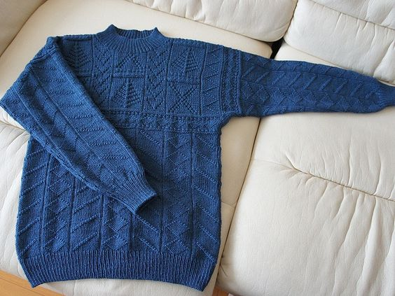 Free Knitting Patterns For Guernsey Sweaters : Libraries, Sweater patterns and Pattern library on Pinterest