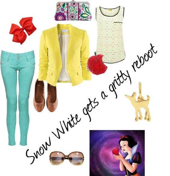 """Snow White"" by beccaannw82 ❤ liked on Polyvore"