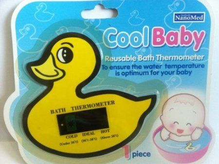 3 Pack Cool Baby Reusable Bath Thermometer to Ensure Water Temperature Is Optimum for Your Baby Reusable. Bath thermometer. To ensure the water temperature is optimum for your baby. 3 quantity.