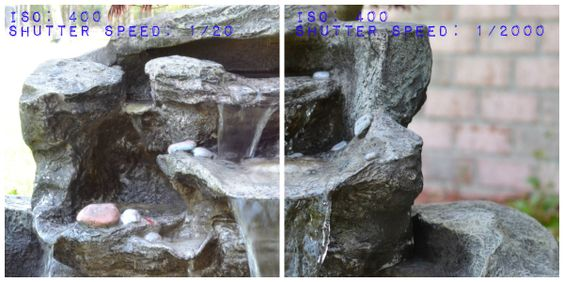 DSLR shutter speed photography challenge by My Paper Craze
