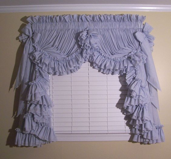 Priscilla Curtains Ruffled Curtains And Curtains On Pinterest