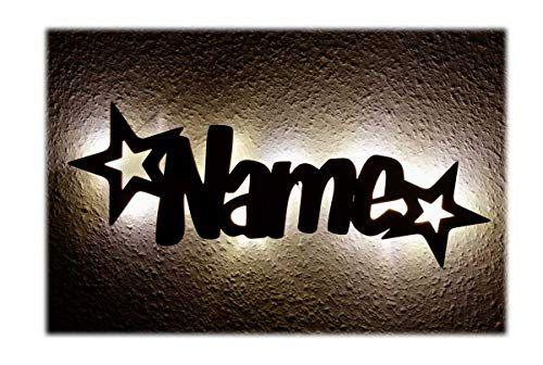 Schlummerlicht24 Led Mobel Nacht Lichter Lampe Stern Funkeln Mit Individuell Em Name N Personalisiert E Baby Geschenk E Zur Taufe Geburt Kommunion K Baby Geschenke Geschenke