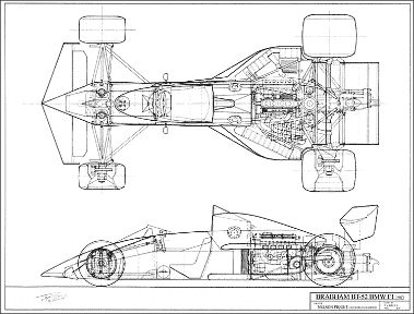 brabham bt52 bmw f1 | schematics & technical drawings ... f1 bmw engine diagram