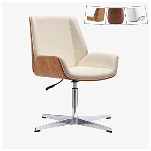Zhen Guo Mid Century Modern Office Desk Chair With Cipri Leather Uphol Mid Century Modern Office Mid Century Modern Office Chair Mid Century Modern Office Desk