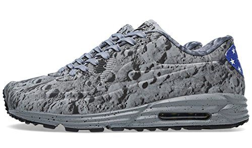 984afd48ee1 Nike Mens Air Max Lunar90 SP Moon Landing Reflective SilverMetallic Gold  Synthetic Athletic Sneakers Size 8 -- Details can be found by click…
