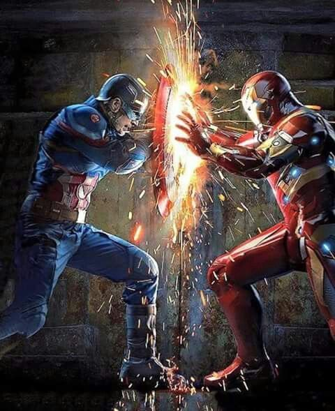 One Of My Favorite Marvel Movies And Definitely The Best 50 50 Balance Of Both Good Drama And Action Iron Man Vs Captain America Marvel Avengers Marvel Heroes