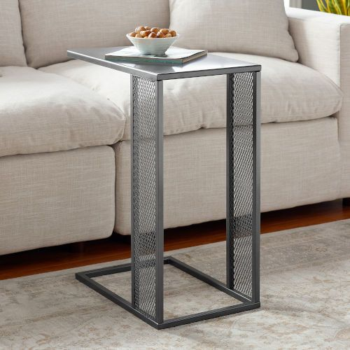 Pin On 茶几 - Small Black Metal Rectangle Side Table
