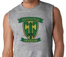 Army 18th Military Police Veteran Sleeveless Shirt