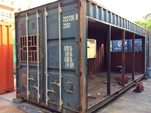 Ce Qu Il Est Possible De Faire D Un Vieux Conteneur Pour Seulement 5 000 Homify Maison Conteneur Conteneur D Expedition Maisons Plans Maison Container