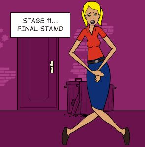 STAGE 11... FINAL STAMD: