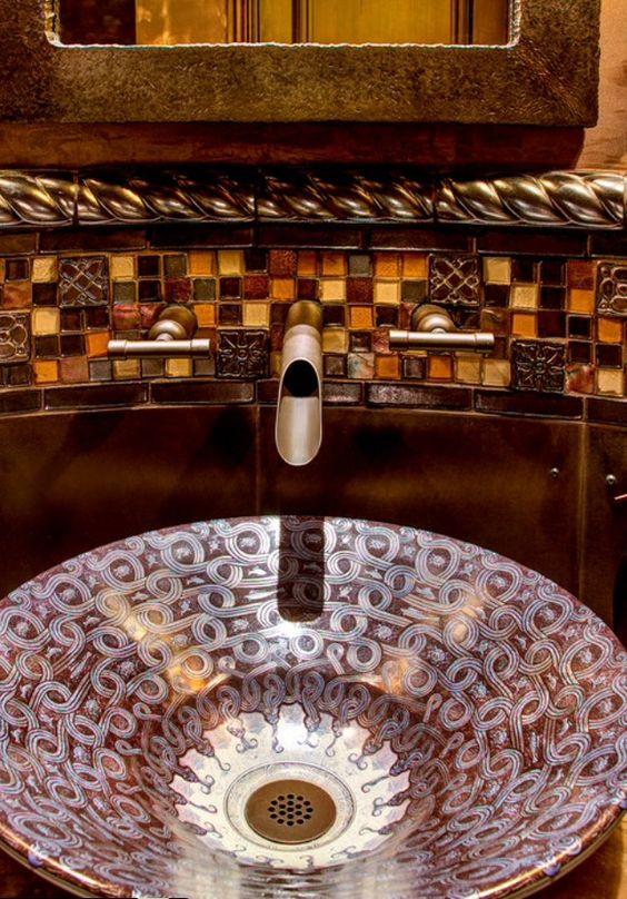 Sanitarios baño / muebles lavabo: un #lavabo de lujo para el #baño ...