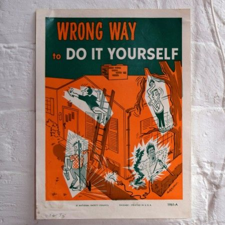Wrong way to do it yourself poster cute gift ideas pinterest wrong way to do it yourself poster solutioingenieria Image collections