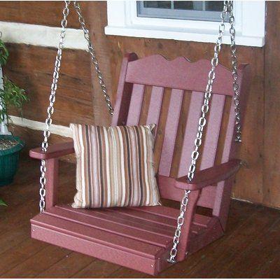 August Grove Zandra Porch Swing Wayfair Porch Swing Hanging Porch Swing Diy Porch Swing