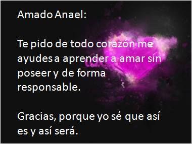 #UniversoDeAngeles Oración al ángel Anael para aprender a amar.