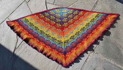 Eliza shawl