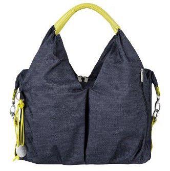 monsacalanger Neckline, un design intemporel pour un sac à langer au Label Green Sac a langer gris Lassig Neckline