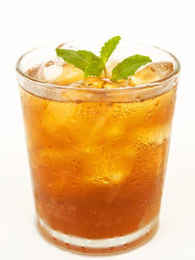 gingembre, citron, thé vert, feuille de menthe