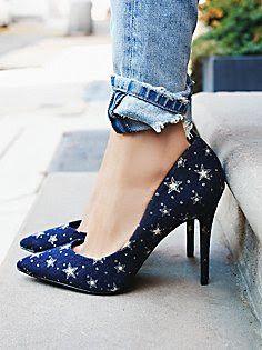 Billy Ella star pumps #anthrofave