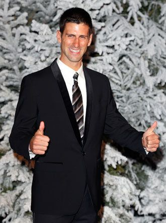 "#Djokovic says ""cheese"" for the camera. Donkey cheese that is! Novak buys the world's entire supply of it"