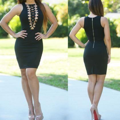 Sexy Bandage Slim Bodycon Dress