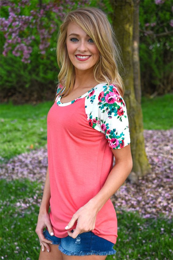 Happy Together ~ Coral – The Pulse Boutique