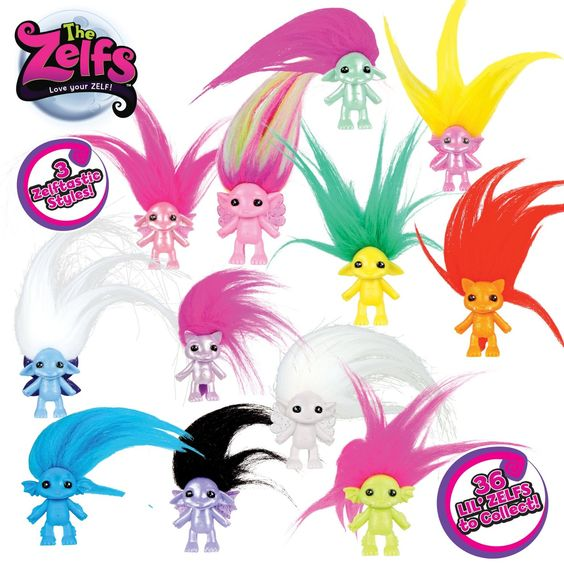 Zelfs: little creatures with crazy HAIR! - Baby Budgeting
