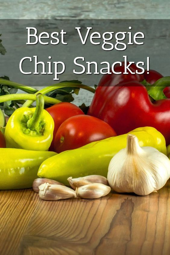 Best Veggie Chips Top 5 List Pin
