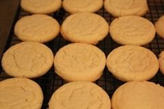 No Roll Sugar Cookies.  These are fast, easy, and always turn out perfect.