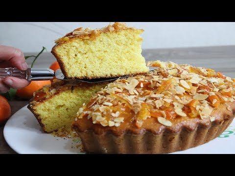 كيكة المندرين في الخلاط بطبقة معلكة ومقرمشة كاتجي تحفة فعلا لذيذة بزاف Youtube Cupcake Cakes Cake Food