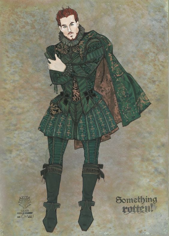 While the designs are intended to 'feel' Elizabethan, not Tudor, I really like their mix of textures.