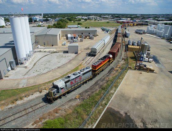RailPictures.Net Photo: KCS 2973 Kansas City Southern Railway EMD GP40-2 at Garland, Texas by David Hawkins