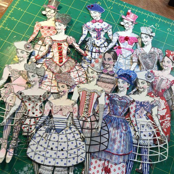 Handmade paper creations by parispluie on etsy working for Handmade paper creations