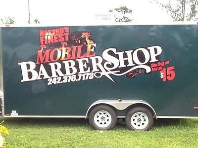Mobile Barber Shop Trailer Shops Trailers And Mobiles