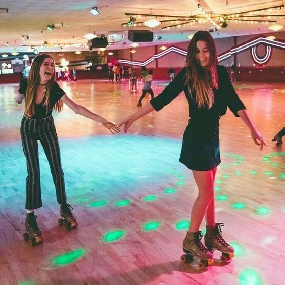 Go roller skating with my besties!!