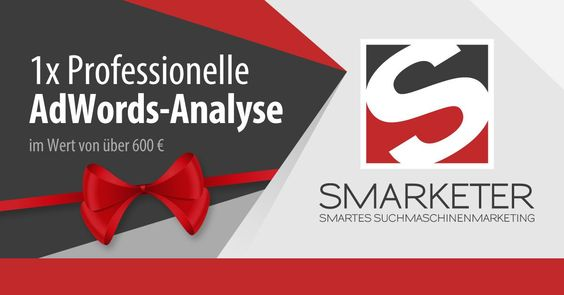Adventskalender Tag 24: Professionelle AdWords Analyse im Wert von über 600  sponsored by Smarketer - http://ift.tt/2hhUd8M #news