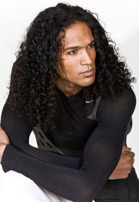 Fine Men With Long Hair Long Hair And Black Men On Pinterest Hairstyles For Women Draintrainus