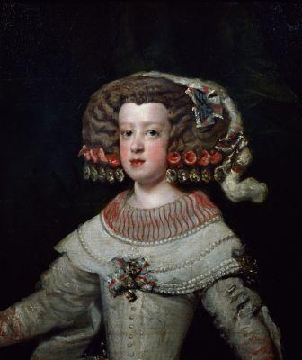 Diego Velasquez - Portrait of the Infanta Maria Teresa