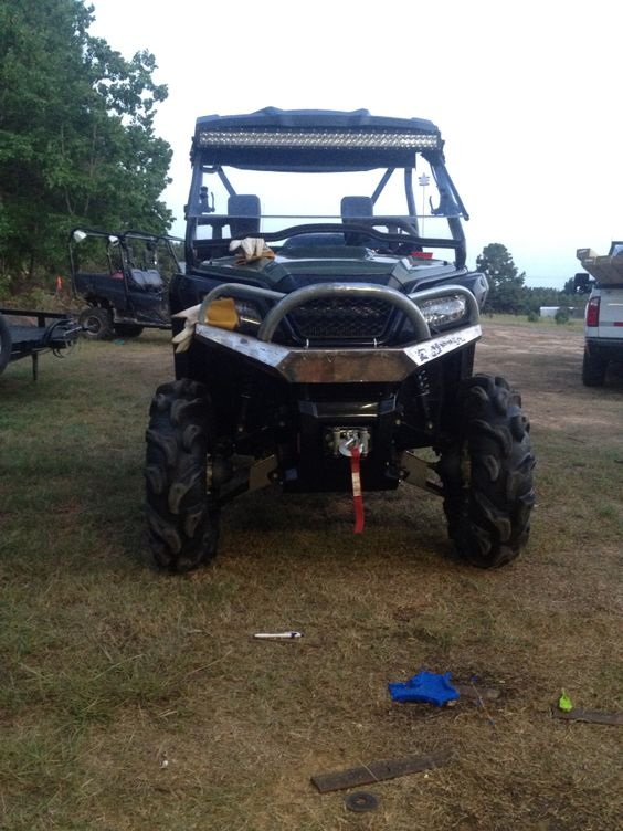 Honda Of Hattiesburg >> Honda pioneer 500 bumper | Projects | Pinterest | Honda