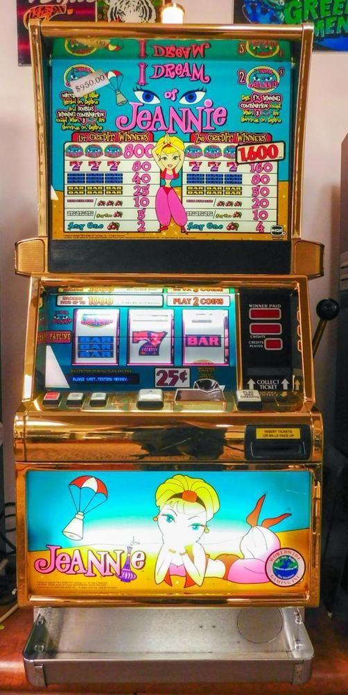I Dream Of Jeannie Slot Machine