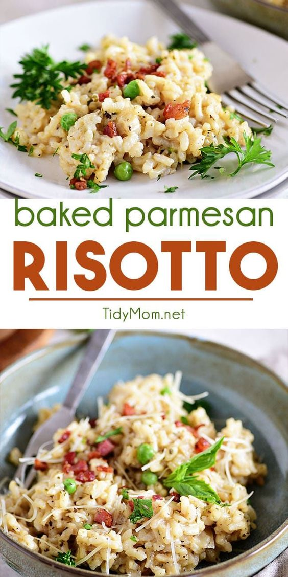 Easy Baked Parmesan Risotto