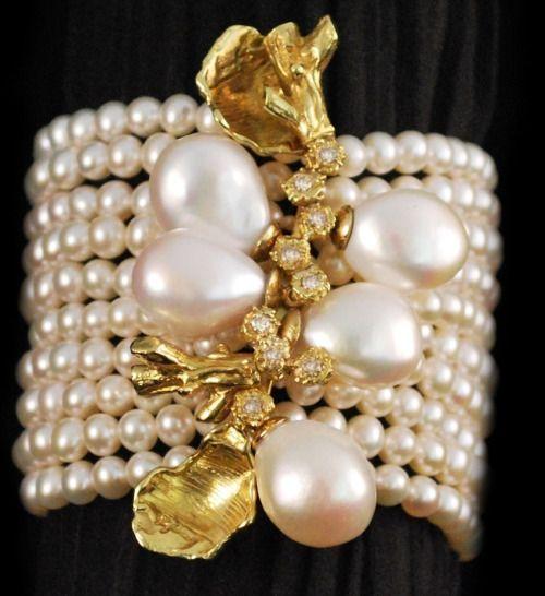 Pearls and Diamonds via: